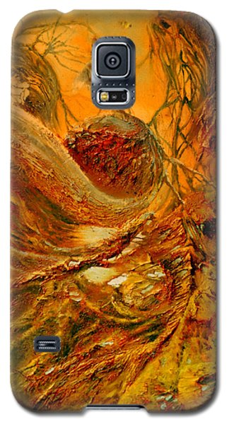 Galaxy S5 Case featuring the painting The Alchemist by Henryk Gorecki