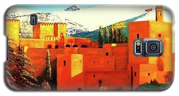 The Alhambra Of Granada Galaxy S5 Case by Manuel Sanchez