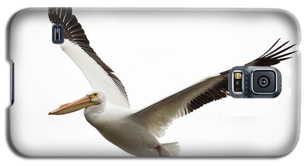 Galaxy S5 Case featuring the photograph The Amazing American White Pelican by Ricky L Jones