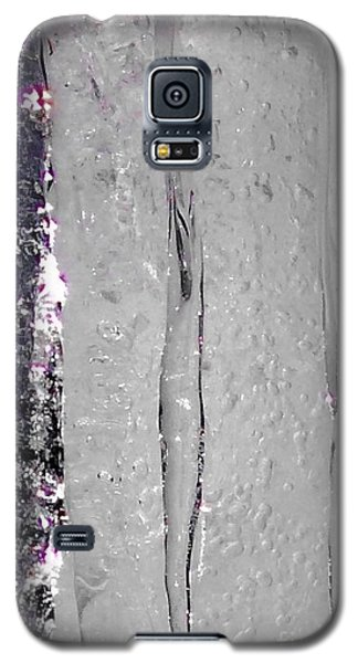 The Wall Of Amethyst Ice  Galaxy S5 Case by Jennifer Lake