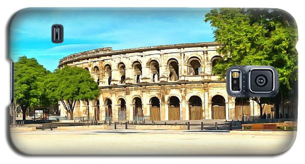 The Amphitheatre Nimes Galaxy S5 Case by Scott Carruthers