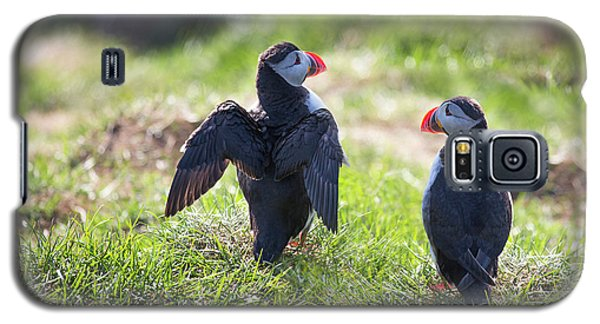 The Angel Puffin Galaxy S5 Case