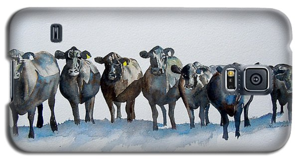The Angus Eight Galaxy S5 Case by Sharon Mick