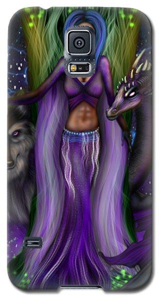 The Animal Goddess Fantasy Art Galaxy S5 Case