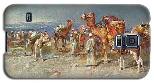 The Arab Caravan   Galaxy S5 Case by Italian School