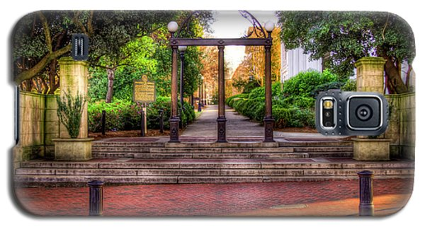 The Arch 4 University Of Georgia Arch Art Galaxy S5 Case
