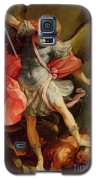 The Archangel Michael Defeating Satan Galaxy S5 Case