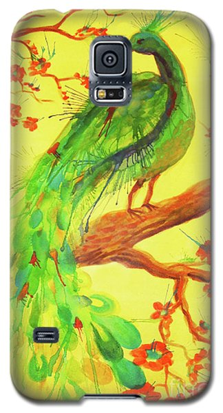 The Auspicious Peacock Galaxy S5 Case