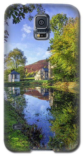 Galaxy S5 Case featuring the photograph The Autumn Pond by Ian Mitchell