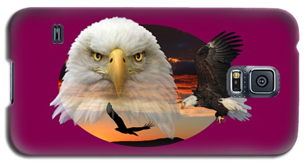 Galaxy S5 Case featuring the photograph The Bald Eagle 2 by Shane Bechler
