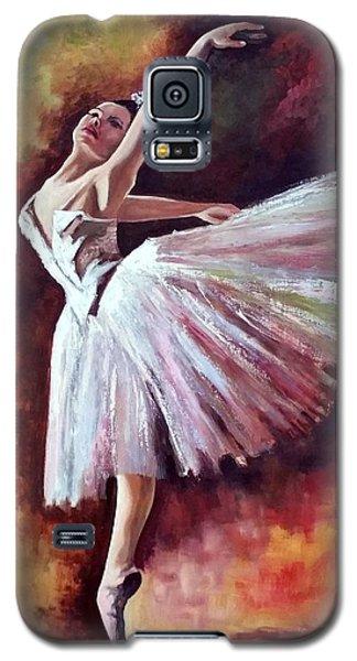 The Dancer Tilting - Adaptation Of Degas Artwork Galaxy S5 Case