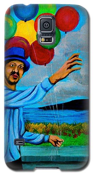 The Balloon Vendor Galaxy S5 Case by Cyril Maza