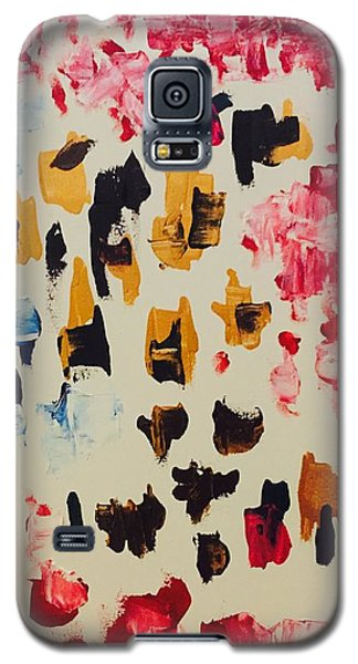 Galaxy S5 Case featuring the painting The Band  by Samimah Houston