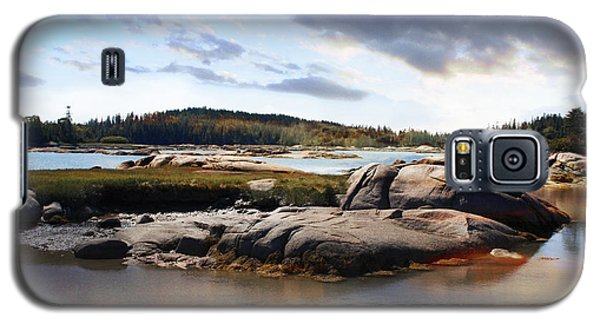 The Basin, Vinalhaven, Maine Galaxy S5 Case