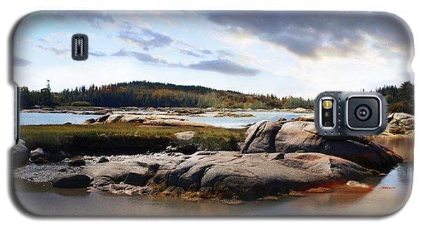 The Basin, Vinalhaven, Maine Galaxy S5 Case