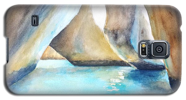 The Baths Water Cave Path Galaxy S5 Case