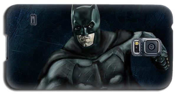 Ben Affleck Galaxy S5 Case - The Batman by Vinny John Usuriello