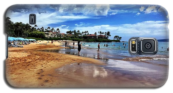 Galaxy S5 Case featuring the photograph The Beach 2 by Michael Albright