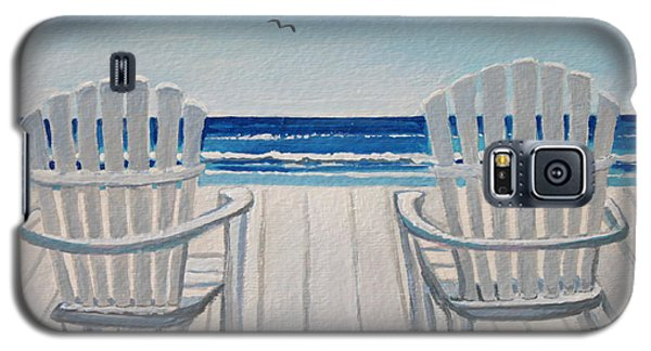 The Beach Chairs Galaxy S5 Case