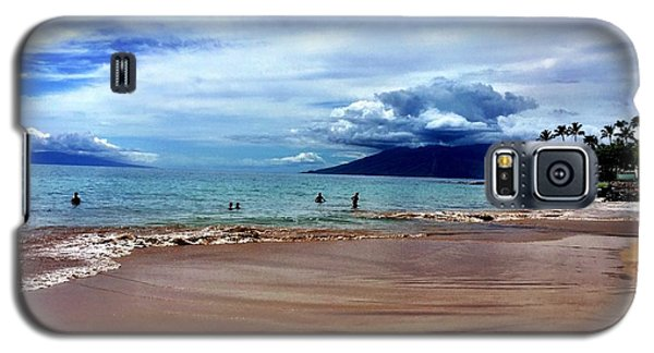 Galaxy S5 Case featuring the photograph The Beach by Michael Albright