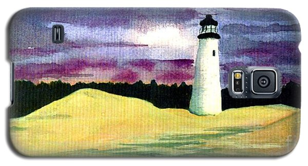 Galaxy S5 Case featuring the painting The Beacon by Patricia Griffin Brett