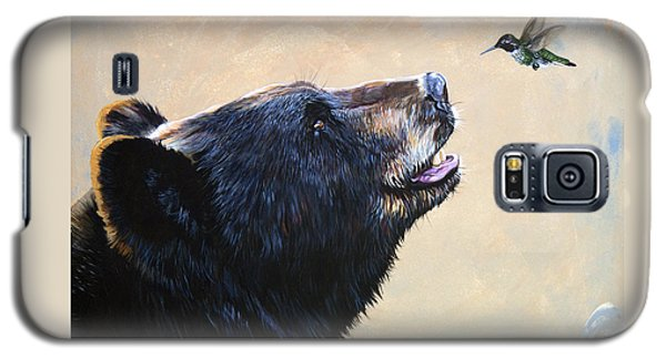 The Bear And The Hummingbird Galaxy S5 Case