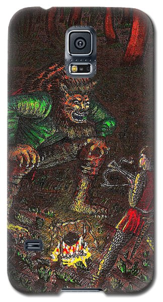 The Beast And Prince Meet Galaxy S5 Case