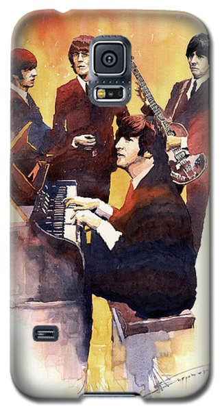 Musicians Galaxy S5 Case - The Beatles 01 by Yuriy Shevchuk