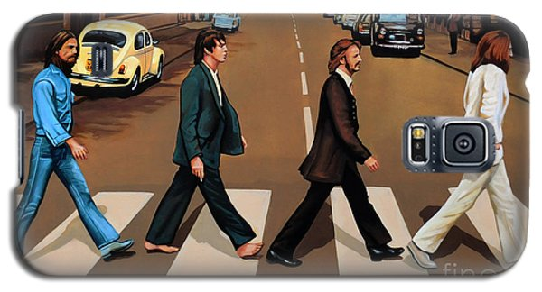 The Beatles Abbey Road Galaxy S5 Case by Paul Meijering