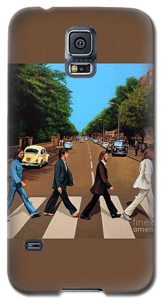 Music Galaxy S5 Case - The Beatles Abbey Road by Paul Meijering