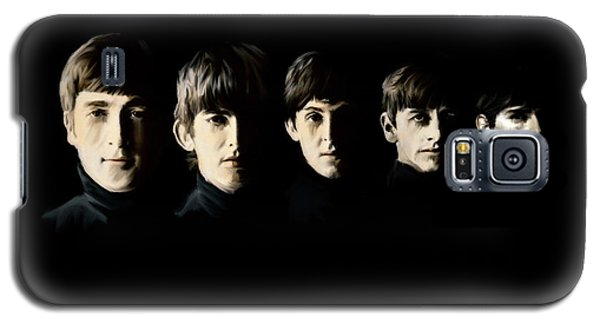 The Beatles Destinies Fate Galaxy S5 Case by Iconic Images Art Gallery David Pucciarelli