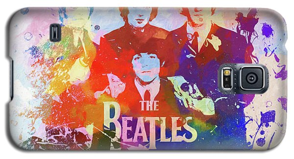The Beatles Paint Splatter  Galaxy S5 Case