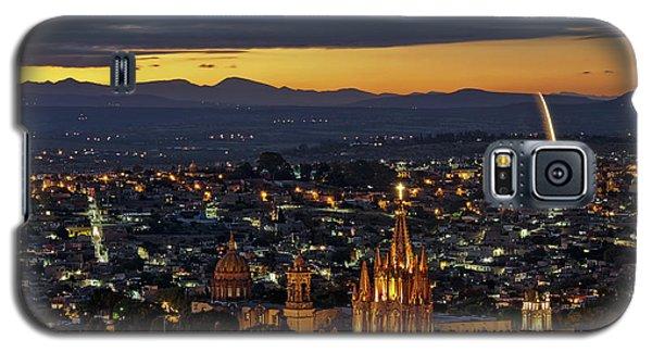 The Beautiful Spanish Colonial City Of San Miguel De Allende, Mexico Galaxy S5 Case