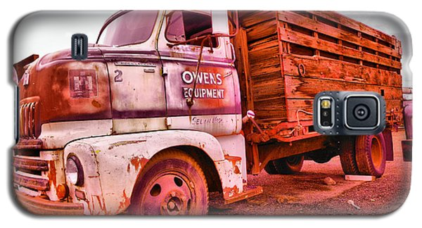 Galaxy S5 Case featuring the photograph The Beauty Of An Old Truck by Jeff Swan