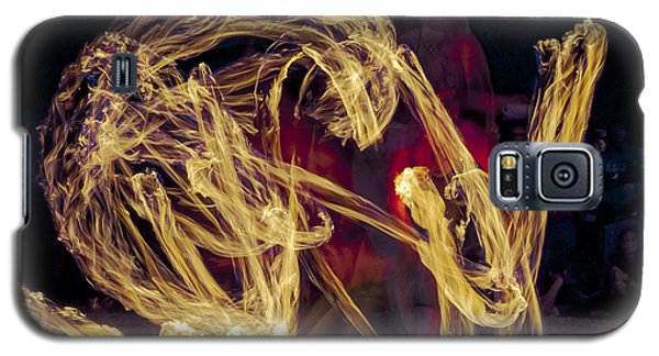 Galaxy S5 Case featuring the photograph The Beauty Of Fire by Karen Musick