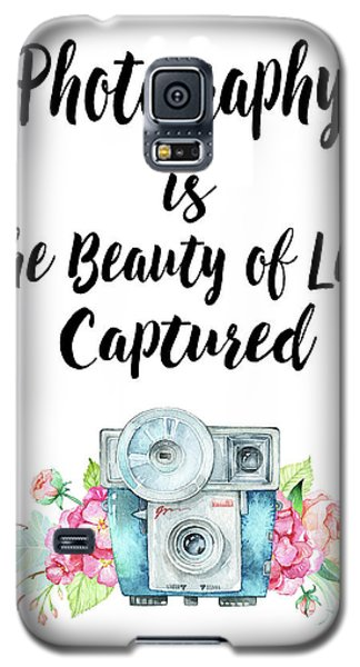 Galaxy S5 Case featuring the digital art The Beauty Of Life by Colleen Taylor