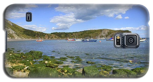 Galaxy S5 Case featuring the photograph The Beauty Of Lulworth Cove by Ian Middleton