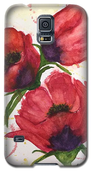 Galaxy S5 Case featuring the painting The Beauty Of Three by Lucia Grilletto