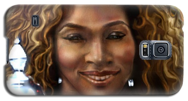 Serena Williams Galaxy S5 Case - The Beauty Victory That Is Serena by Reggie Duffie