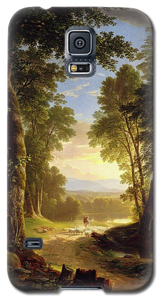 The Beeches By Asher Brown Durand Galaxy S5 Case by Asher Brown Durand
