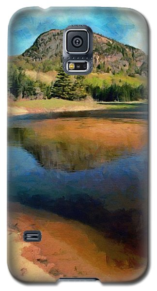 Galaxy S5 Case featuring the painting The Beehive by Jeff Kolker