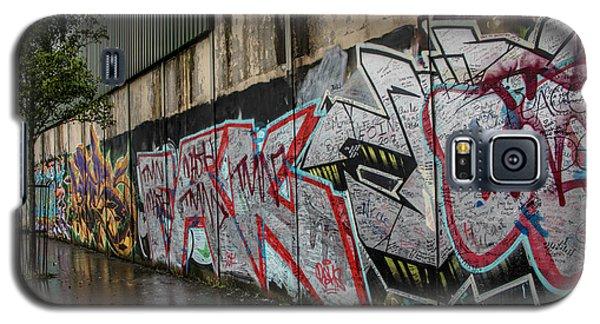 The Belfast Peace Wall Galaxy S5 Case
