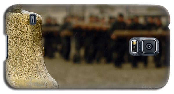 The Bell Is Present On The Beach Galaxy S5 Case by Stocktrek Images