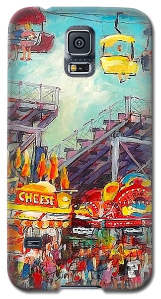 The Big Cheese Galaxy S5 Case by Les Leffingwell