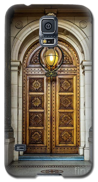 Galaxy S5 Case featuring the photograph The Big Doors by Perry Webster