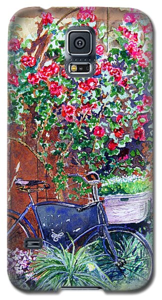 The Bike At Bistro Jeanty Napa Valley Galaxy S5 Case by Gail Chandler