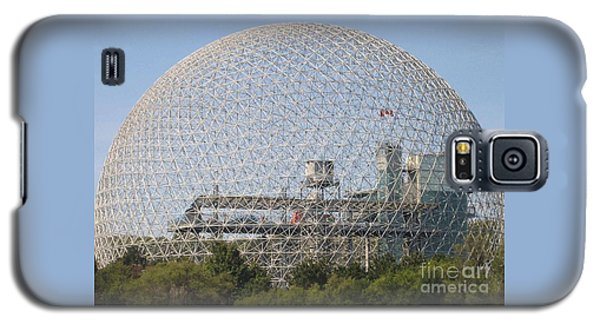 The Biosphere  Ile Sainte-helene Montreal Quebec Galaxy S5 Case