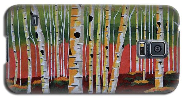 The Birch Forest Galaxy S5 Case by Kathleen Sartoris