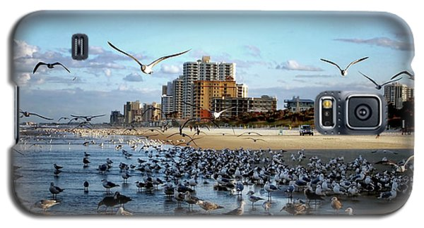 Galaxy S5 Case featuring the photograph The Birds by Jim Hill