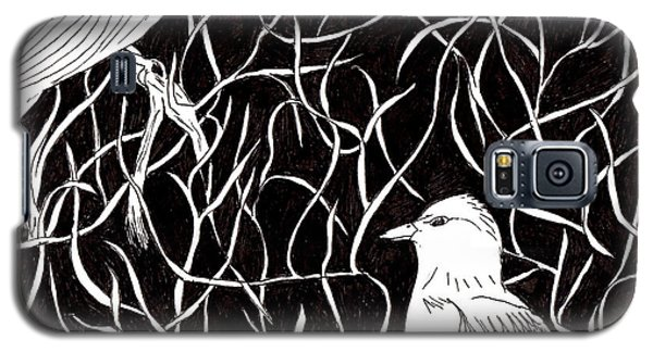 Galaxy S5 Case featuring the drawing The Birds by Lou Belcher